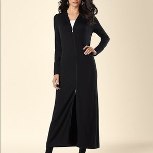 Soma Divine Terry Duster Cardigan Long Wrap Robe M